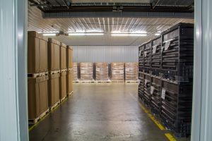 temperature controlled warehouse space at MN Reload