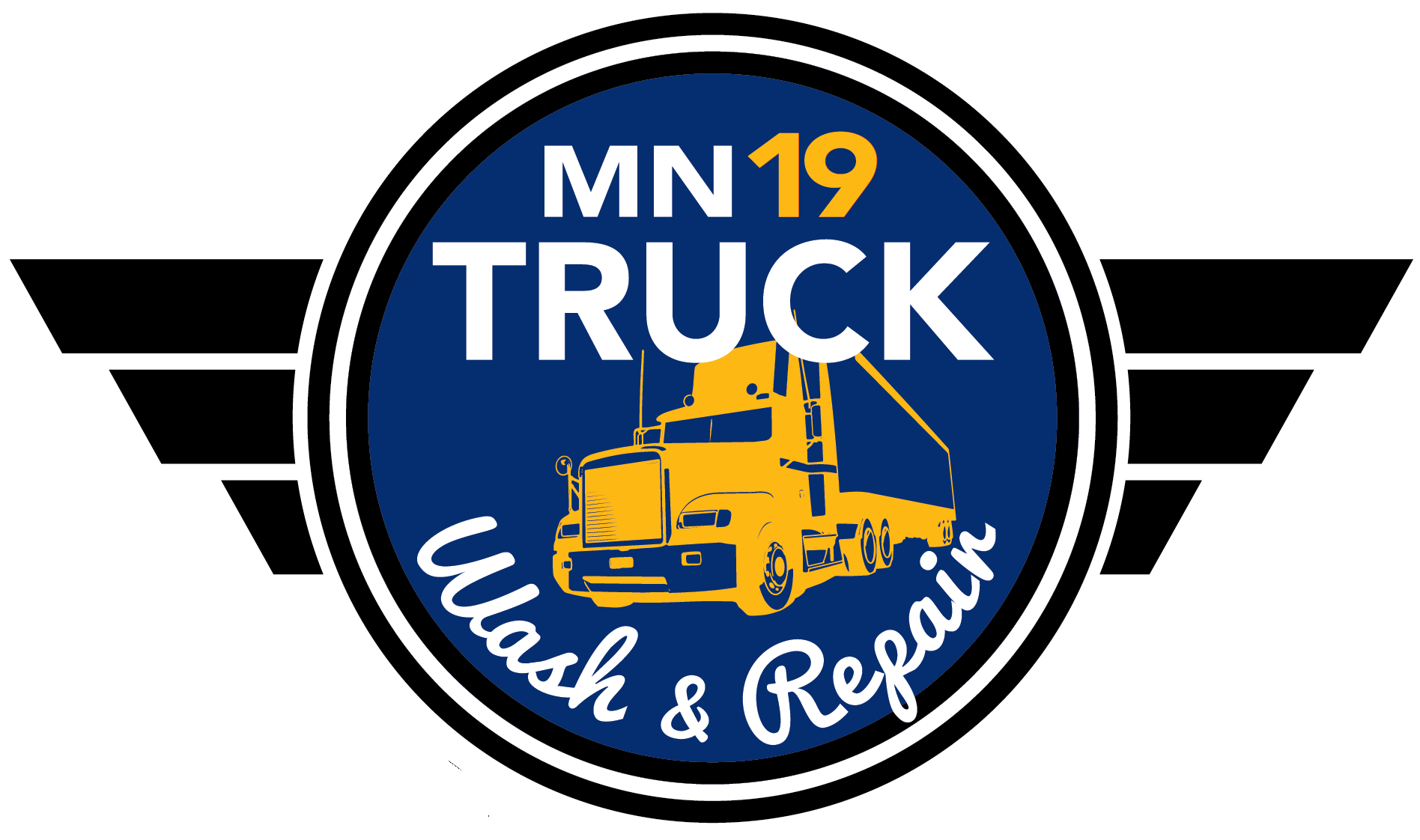 MN 19 Truck Wash & Repair logo
