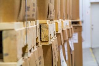 Pallets in Warehousing